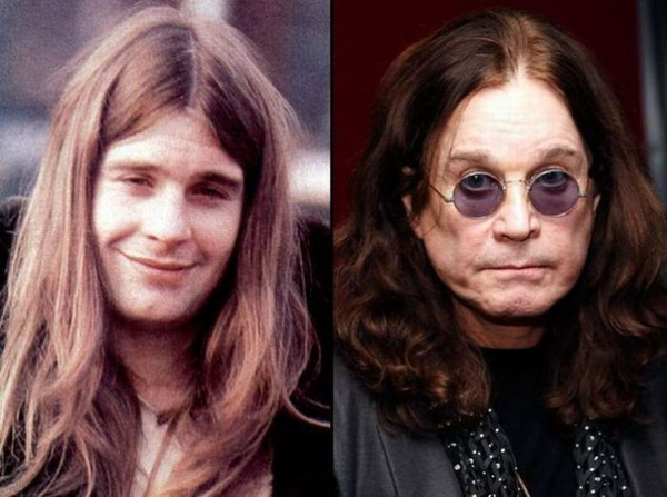 ozzy-osbourne-rock stars then and now