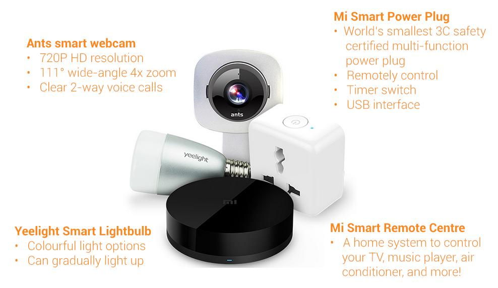 Produtos Smart Home Xiaomi
