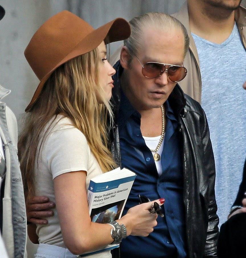 Johnny Depp em 'Black Mass'