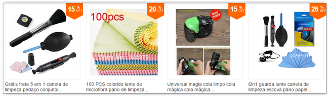 kit de limpeza aliexpress china