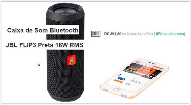 Caixa de Som Bluetooth JBL FLIP3