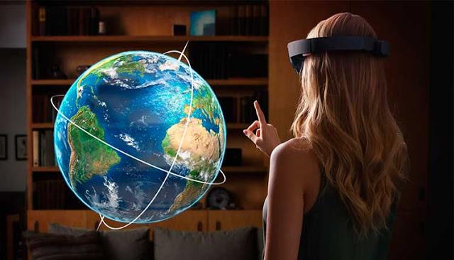 Microsoft HoloLens Smartglass ou óculos inteligentes