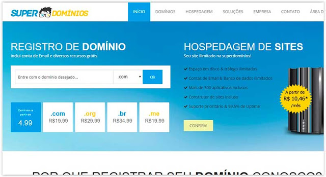superdominios Registrar Dominio