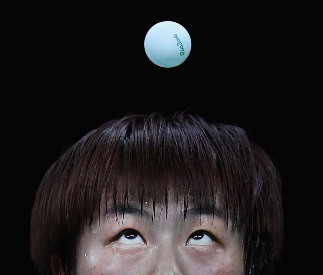 Ning Ding da China disputa com Ying Han da Alemanha