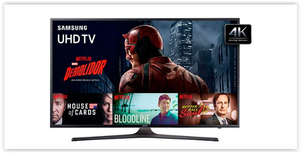 Smart TV Samsung 40 Polegadas 4K