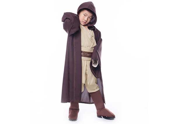 Cosplay Jedi infantil
