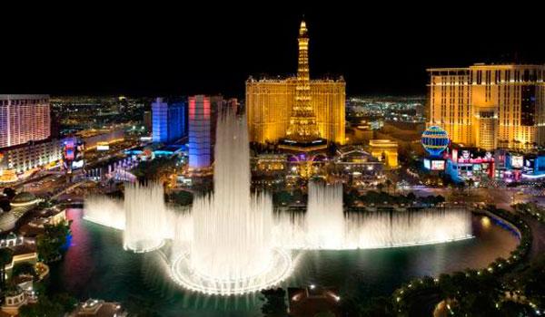 Fonte dançante do The Bellagio - Las Vegas